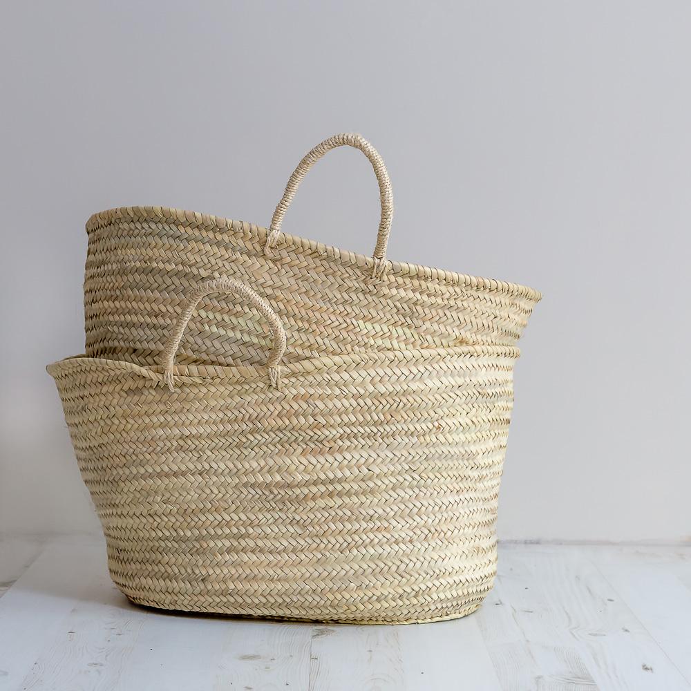 Baskets_Large_1slider & Soft palm leaf basket u2013 Musango